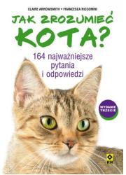 Jak zrozumieć kota? 164 najważniejsze - okładka książki