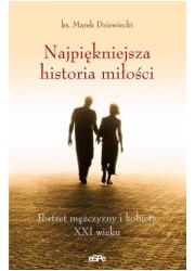 Najpiękniejsza historia miłości. - okładka książki