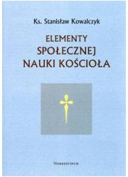 Elementy społecznej nauki Kościoła - okładka książki