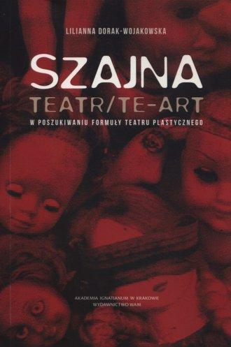 Szajna: Teatr/Te-art - okładka książki