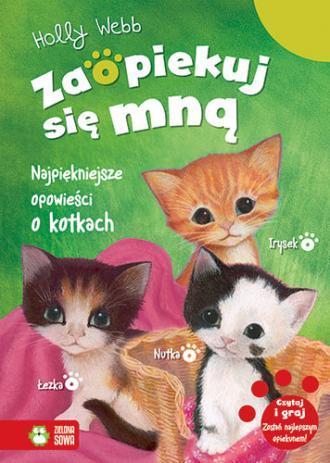 Najpiękniejsze opowieści o kotkach. - okładka książki