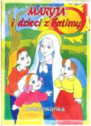 Maryja i dzieci z Fatimy - okładka książki