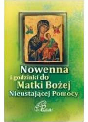 Nowenna i godzinki do Matki Bożej - okładka książki