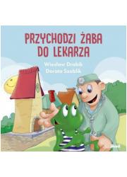 Przychodzi żaba do lekarza - okładka książki