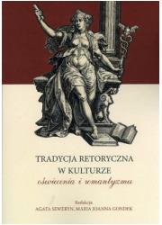 Tradycja retoryczna w kulturze - okładka książki