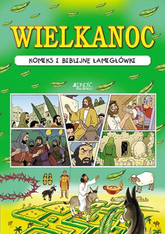 Wielkanoc. Komiks - okładka książki