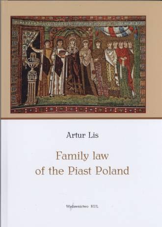 Family Law of the Piast Poland - okładka książki