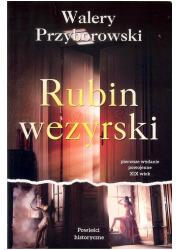 Rubin wezyrski - okładka książki