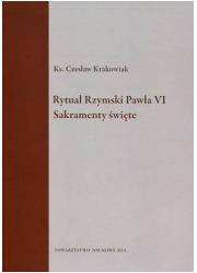 Rytuał Rzymski Pawła VI Sakramenty - okładka książki