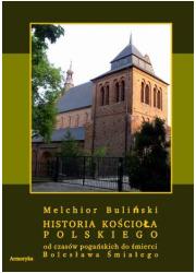 Historia Kościoła polskiego od - okładka książki