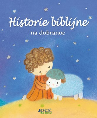 Historie biblijne na dobranoc - okładka książki