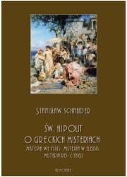 Św. Hipolit o greckich misteriach: - okładka książki