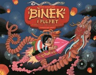Binek i Pulpet w królestwie chińskiego - okładka książki