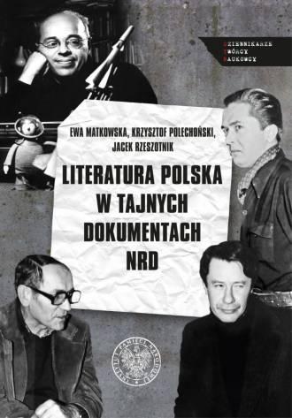 Literatura polska w tajnych dokumentach - okładka książki