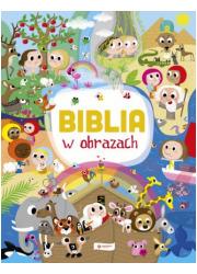 Biblia w obrazach - okładka książki