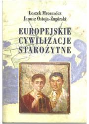 Europejskie cywilizacje starożytne - okładka książki