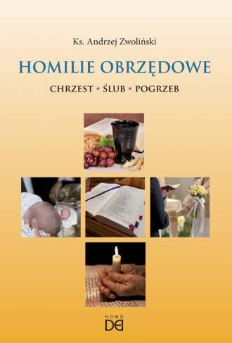 Homilie obrzędowe - okładka książki