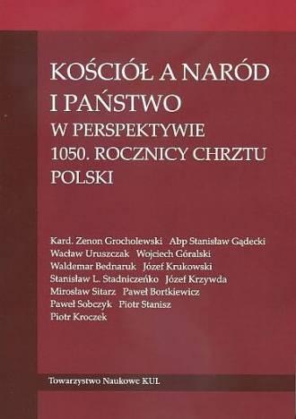 Kościół a naród i państwo w perspektywie - okładka książki