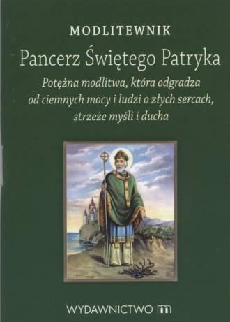 Modlitewnik. Pancerz Świetego Patryka - okładka książki