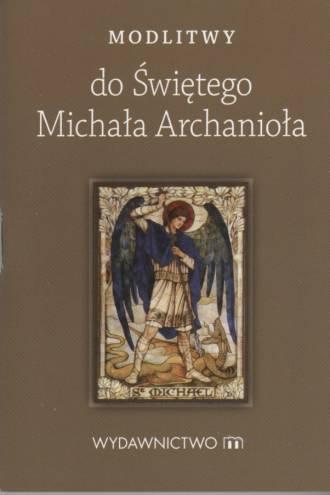 Modlitwy do świętego Michała Archanioła - okładka książki