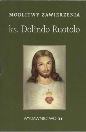 Modlitwy zawierzenia. ks. Dolindo - okładka książki