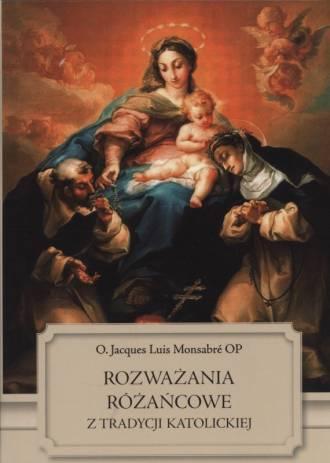 Rozważania różańcowe z tradycji - okładka książki