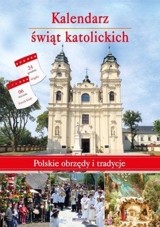 Kalendarz świąt katolickich - okładka książki