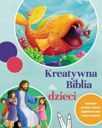 Kreatywna Biblia dla dzieci - okładka książki