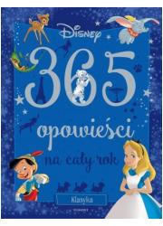 Klasyka Disneya 365 opowieści na - okładka książki