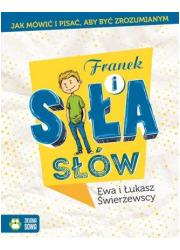 Franek i siła słów - okładka książki