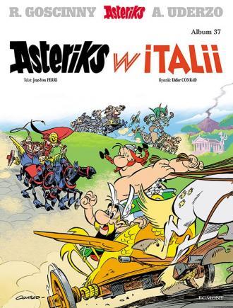 Asteriks w Italii. Tom 37 - okładka książki