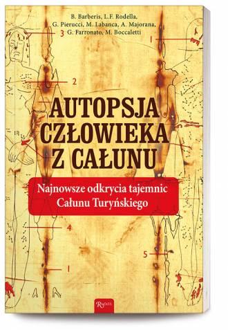 Autopsja Człowieka z Całunu - okładka książki