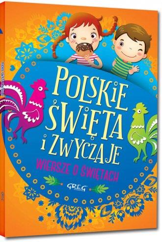 Polskie święta i zwyczaje. Wiersze - okładka książki