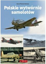 Polskie wytwórnie samolotów - okładka książki