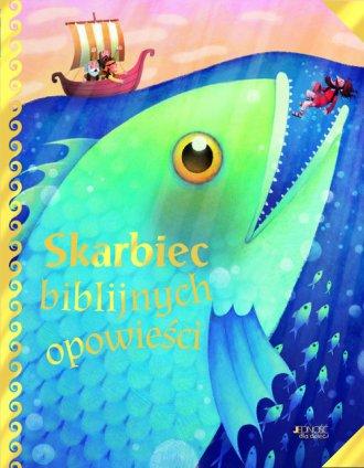 Skarbiec biblijnych opowieści - okładka książki