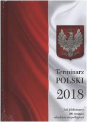 Terminarz polski 2018 - okładka książki