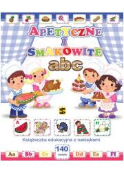 Apetyczne i smakowite ABC. Książeczka - okładka książki