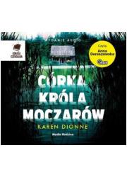 Córka króla moczarów - pudełko audiobooku