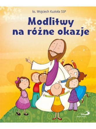 Modlitwy na różne okazje - okładka książki