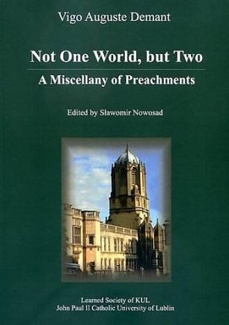 Not One World, but Two. A Miscellany - okładka książki