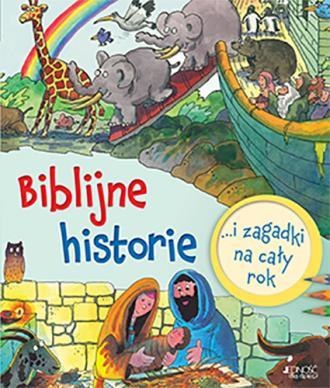 Biblijne historie i zagadki na - okładka książki