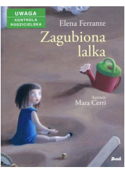 Zagubiona lalka - okładka książki