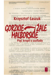 Gorzkie żale Malborskie. Pięć kropli - okładka książki