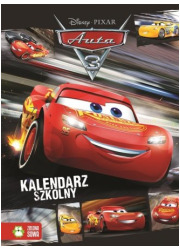 Kalendarz szkolny Auta 3 - okładka książki