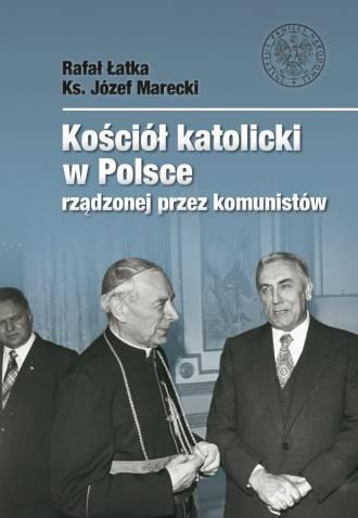 Kościół katolicki w Polsce rządzonej - okładka książki