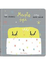 Masło śpi - okładka książki