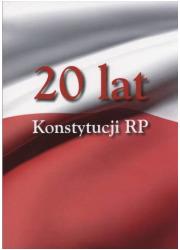 20 lat Konstytucji RP - okładka książki