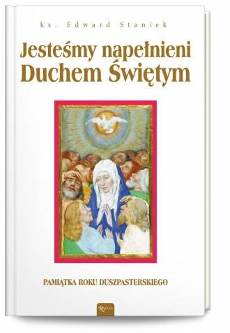 Jesteśmy napełnieni Duchem Świętym - okładka książki