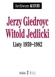 Listy 1959-1982 - okładka książki