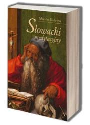 Słowacki medytacyjny. Późny etap - okładka książki